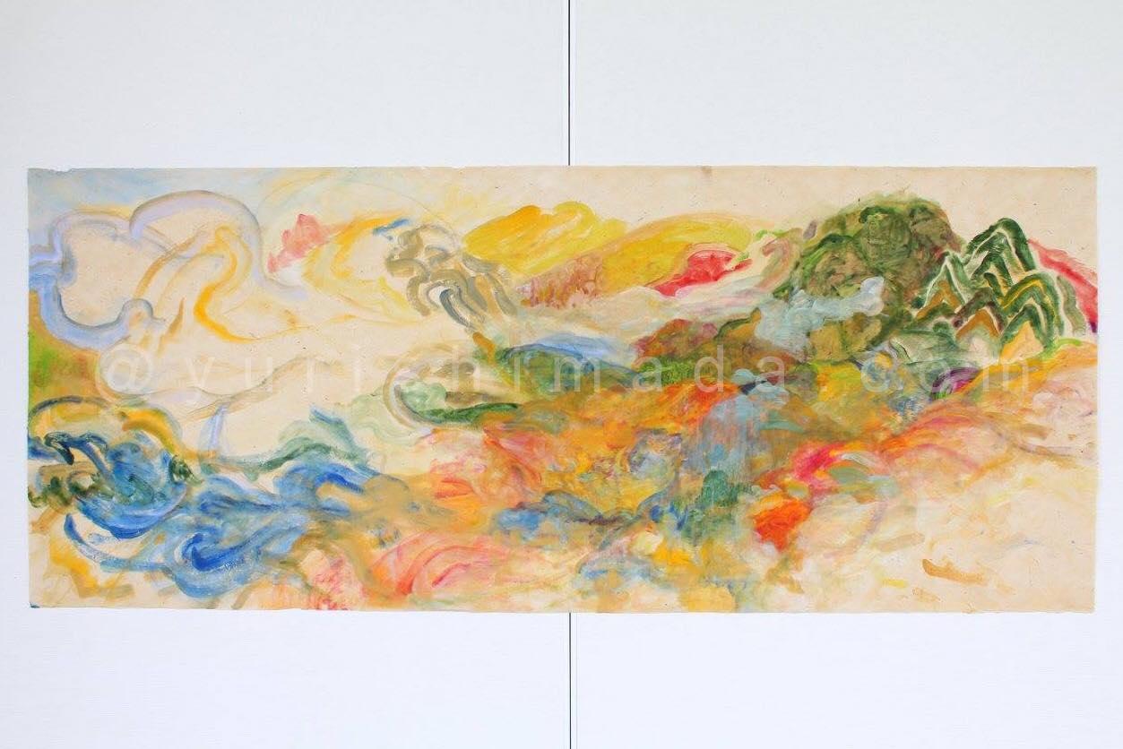 油絵作家島田優里さんの作品