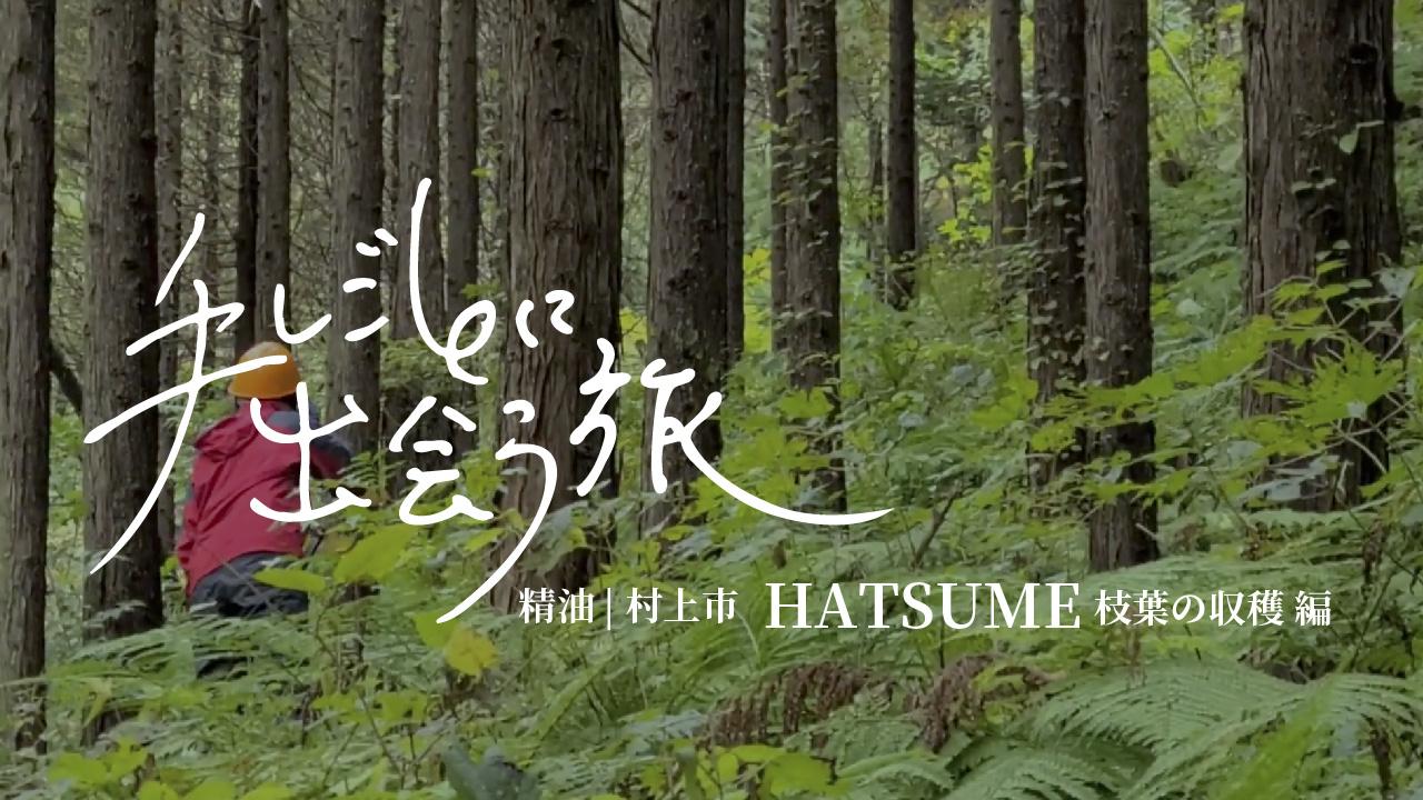 手しごとに出会う旅-新潟県村上市-精油HATSUME