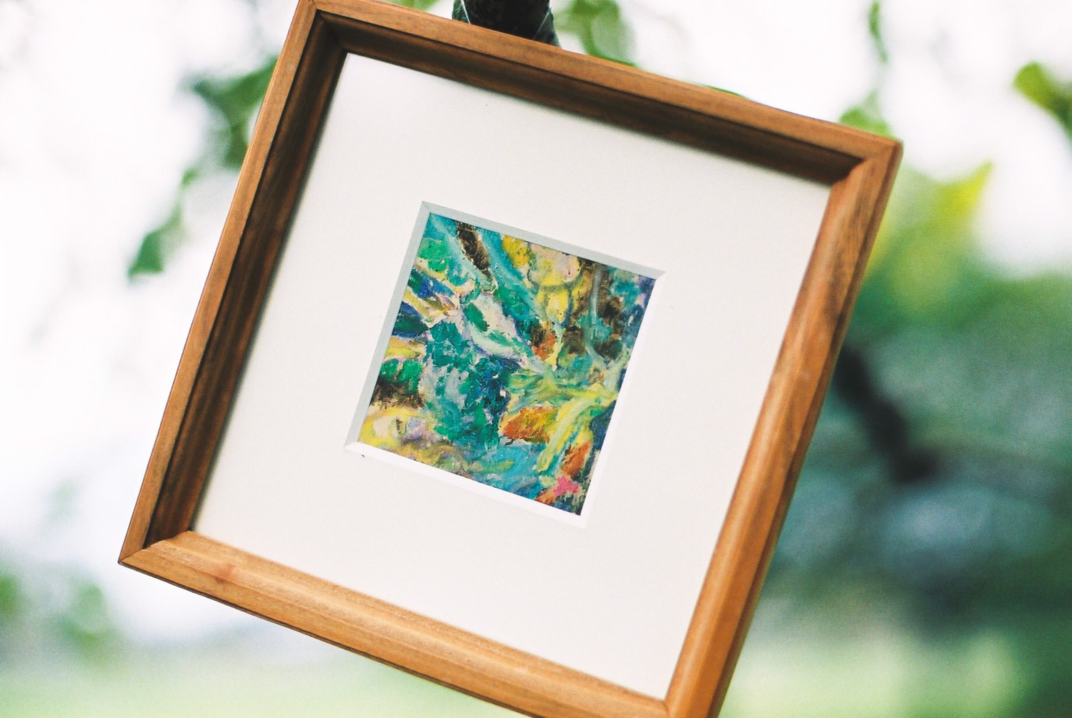 島田優里さんのオイルパステル画